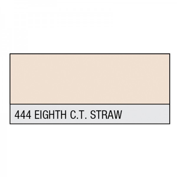 LEE Filter Rolle 444 Eighth C.T. Straw