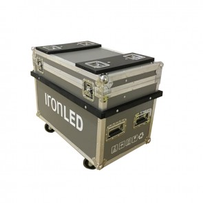 IronLED MH10 LED Moving Head Flightcase