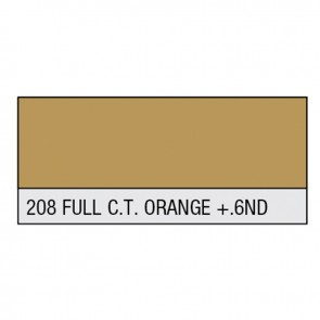 LEE Filter Rolle 208 Full C.T.Orange + .6ND