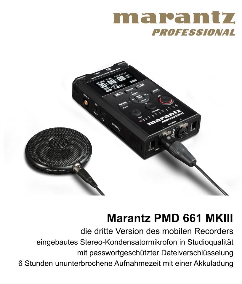 Marantz pmd661 mk III