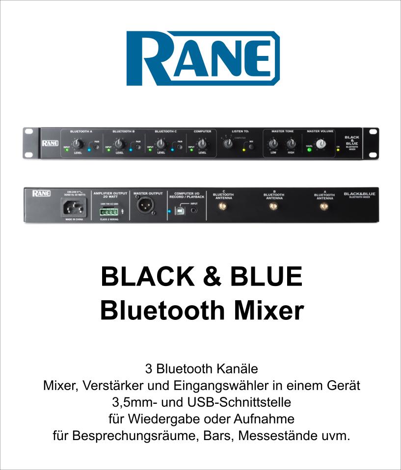 Rane Black & Blue